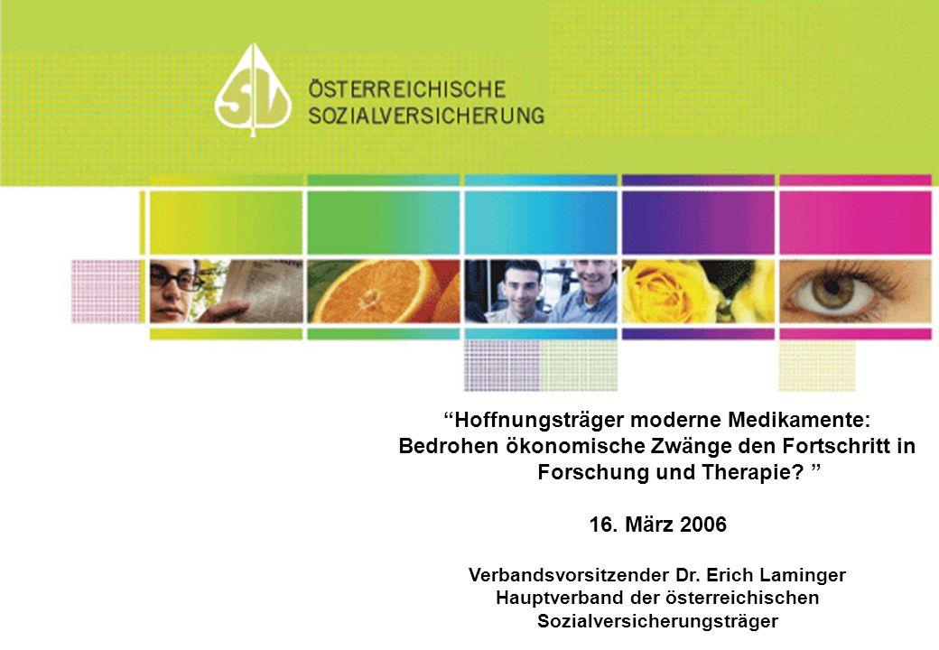 Hoffnungsträger moderne Medikamente: Bedrohen ökonomische Zwänge den Fortschritt in Forschung und Therapie.