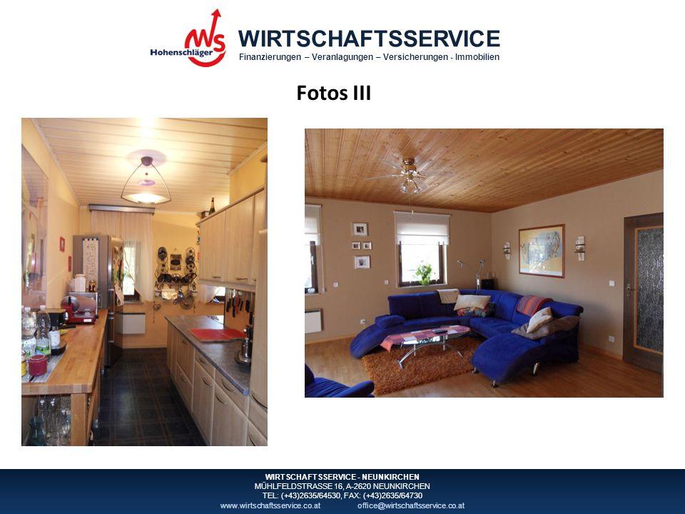 WIRTSCHAFTSSERVICE Finanzierungen – Veranlagungen – Versicherungen - Immobilien WIRTSCHAFTSSERVICE - NEUNKIRCHEN MÜHLFELDSTRASSE 16, A-2620 NEUNKIRCHE