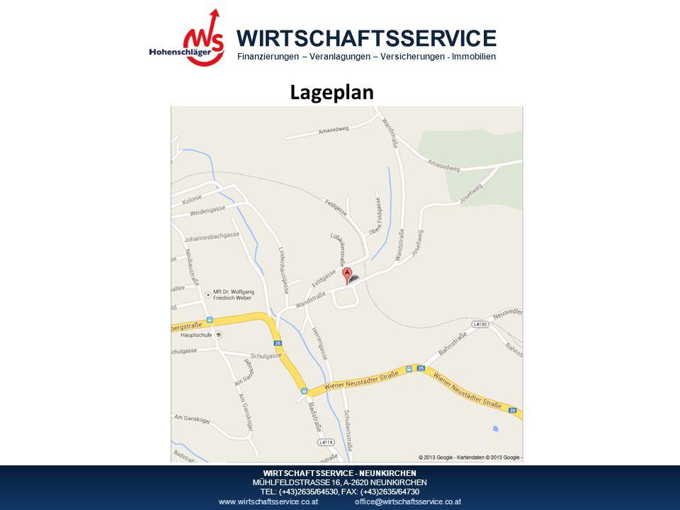 WIRTSCHAFTSSERVICE Finanzierungen – Veranlagungen – Versicherungen - Immobilien WIRTSCHAFTSSERVICE - NEUNKIRCHEN MÜHLFELDSTRASSE 16, A-2620 NEUNKIRCHEN TEL: (+43)2635/64530, FAX: (+43)2635/64730 www.wirtschaftsservice.co.atoffice@wirtschaftsservice.co.at Fotos III