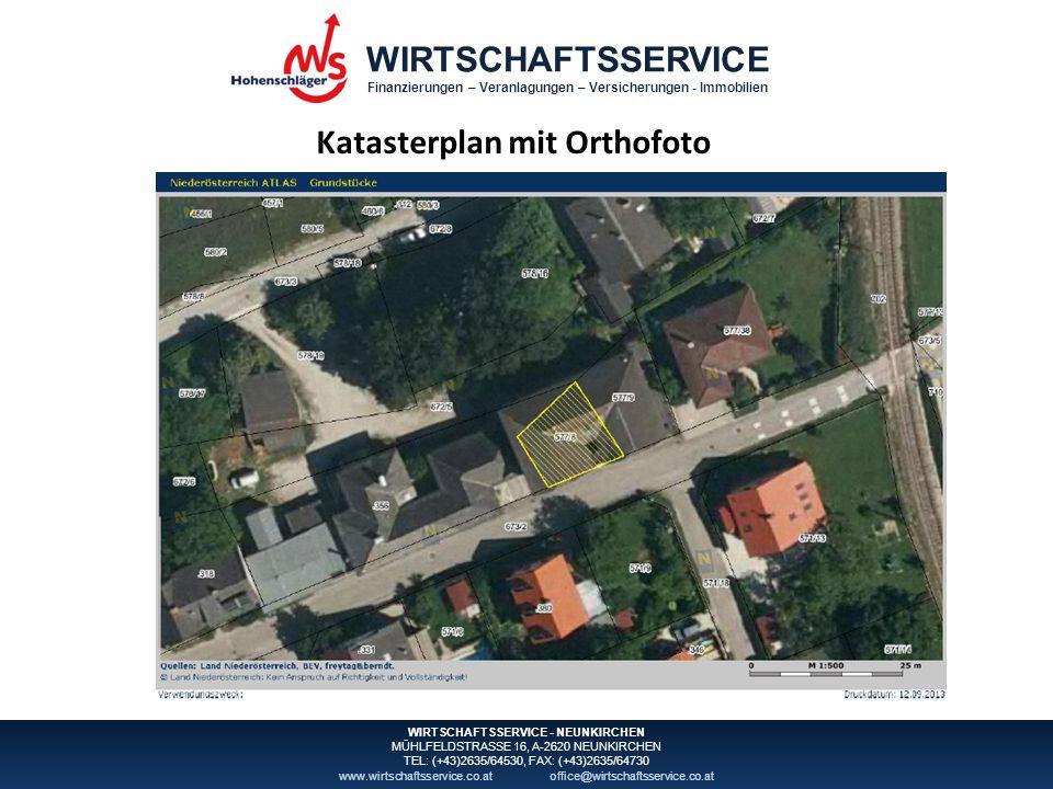 WIRTSCHAFTSSERVICE Finanzierungen – Veranlagungen – Versicherungen - Immobilien WIRTSCHAFTSSERVICE - NEUNKIRCHEN MÜHLFELDSTRASSE 16, A-2620 NEUNKIRCHEN TEL: (+43)2635/64530, FAX: (+43)2635/64730 www.wirtschaftsservice.co.atoffice@wirtschaftsservice.co.at Grundbuchauszug
