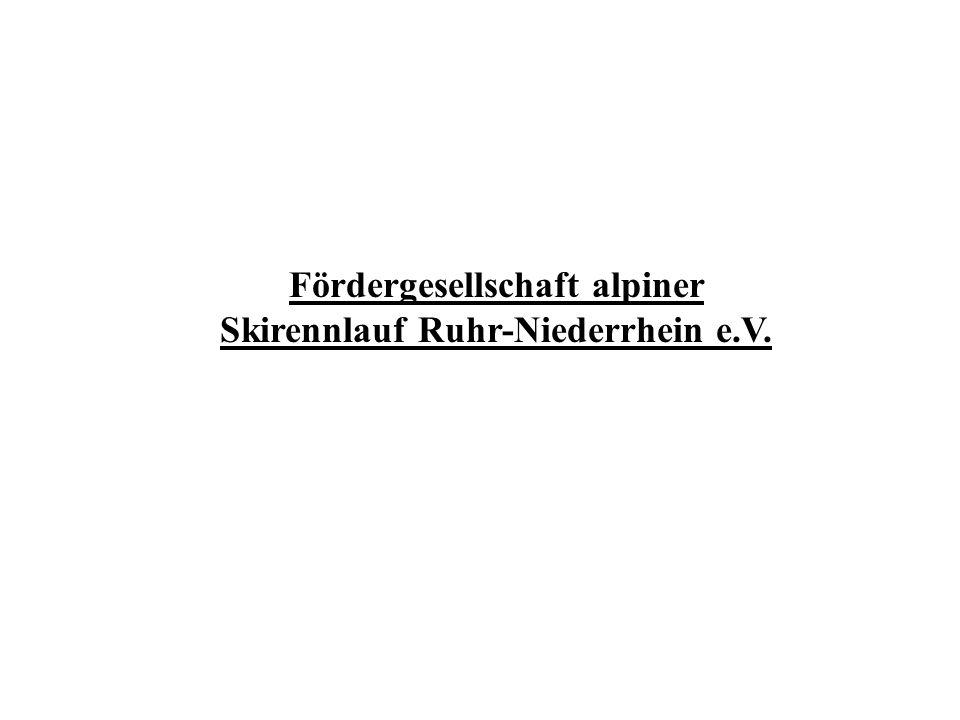 Fördergesellschaft alpiner Skirennlauf Ruhr-Niederrhein e.V.