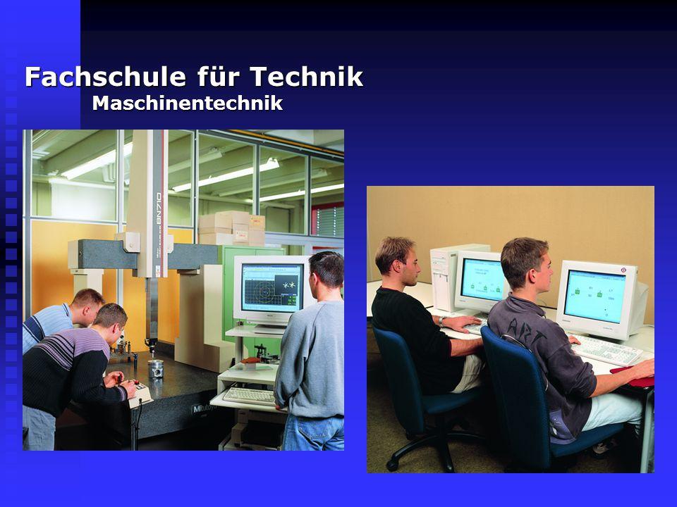 Technisches Gymnasium Informationstechnik Informationstechnik Gestaltungs- und Medientechnik Gestaltungs- und Medientechnik Technik Technik Berufsaufbauschule