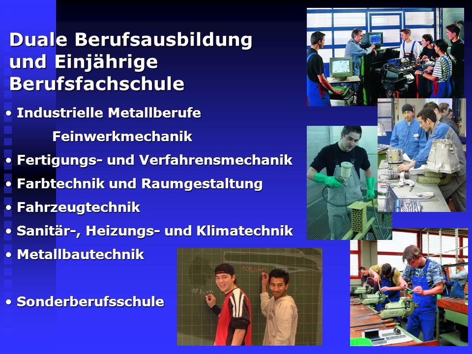 Die Schularten an der GDS 1