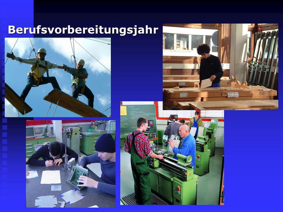 Duale Berufsausbildung und Einjährige Berufsfachschule Industrielle Metallberufe Industrielle MetallberufeFeinwerkmechanik Fertigungs- und Verfahrensm