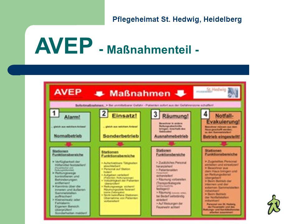 AVEP - Maßnahmenteil - Pflegeheimat St. Hedwig, Heidelberg