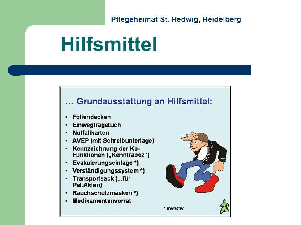 Hilfsmittel Pflegeheimat St. Hedwig, Heidelberg