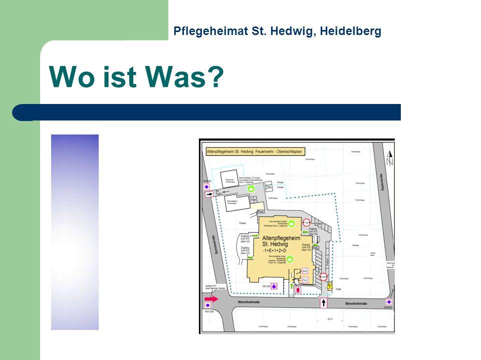 Wo ist Was Pflegeheimat St. Hedwig, Heidelberg