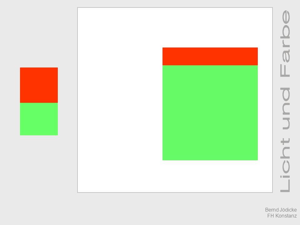 Was ist Farbe ? Relativ-Sehen Bernd Jödicke FH Konstanz