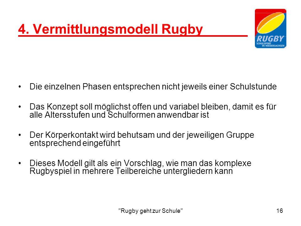 Rugby geht zur Schule 16 4.