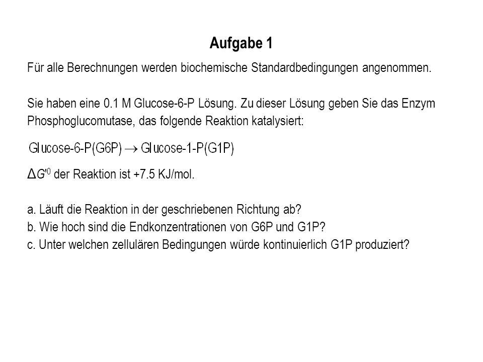 Aufgabe 2 Berechnen Sie die gesamte negative Ladung von ATP bei pH=7.