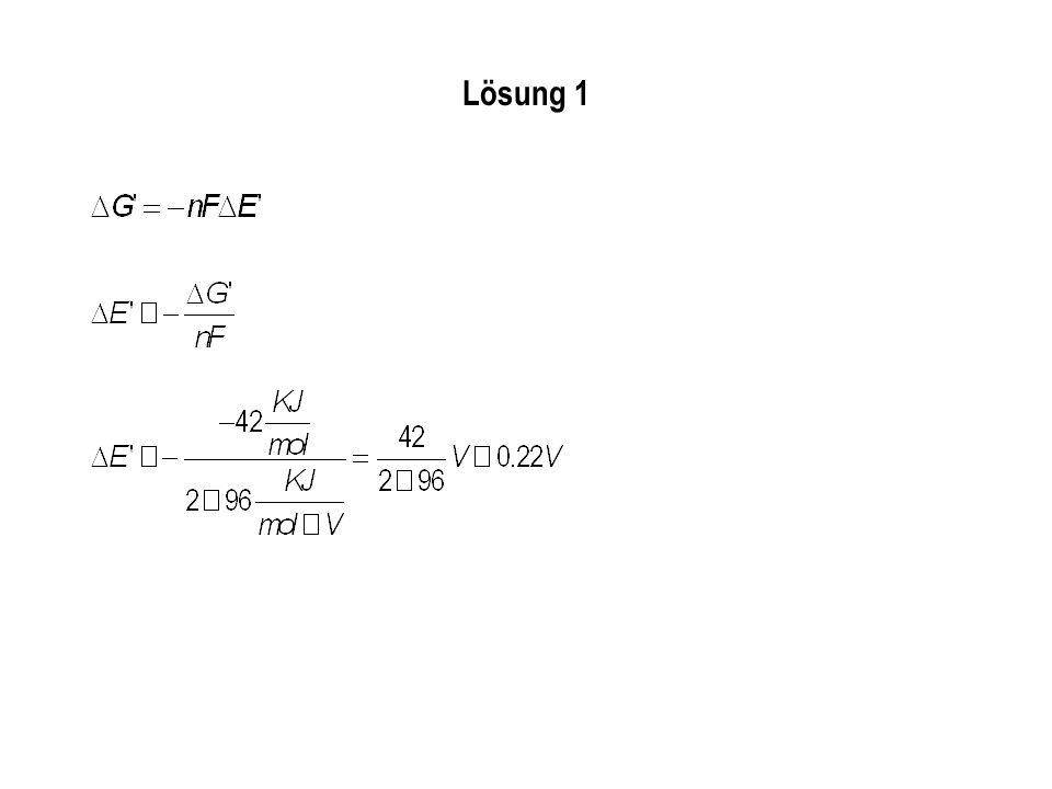 Dehydroascorbat + 2H + + 2e - Ascorbat E 0 = +0.06 V.