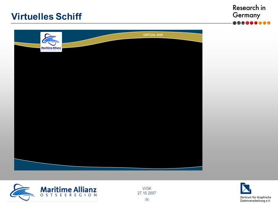 WGK 27.10.2007 (9) Virtuelles Schiff