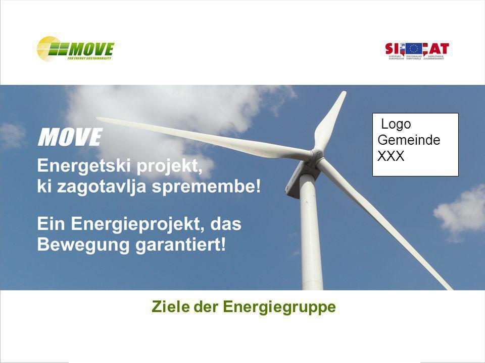 Ziele der Energiegruppe Logo Gemeinde XXX