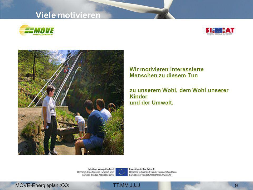 MOVE-Energieplan XXXTT.MM.JJJJ 10 Alleine addieren, gemeinsam multiplizieren. Gemeinsam arbeiten