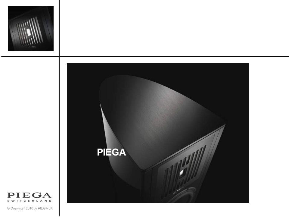 © Copyright 2010 by PIEGA SA PIEGA Sortiment: Coax-Serie Coax 10 Coax-Serie ist mit dem koaxialen Bändchen-System ausgestattet.