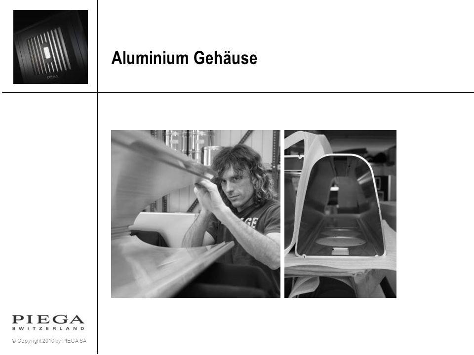 © Copyright 2010 by PIEGA SA Aluminium Gehäuse