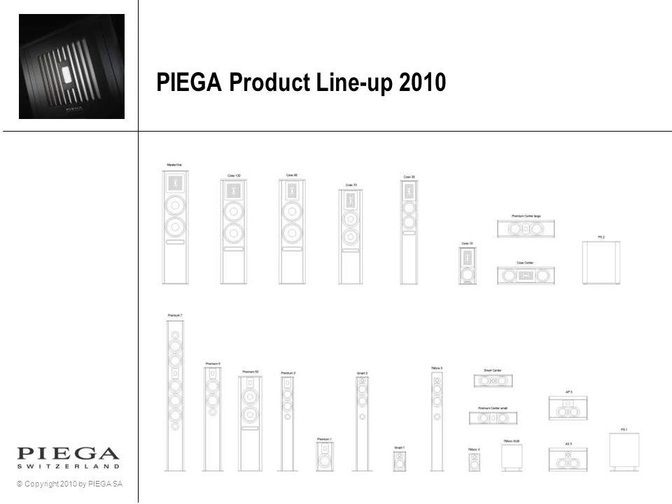 © Copyright 2010 by PIEGA SA PIEGA Product Line-up 2010