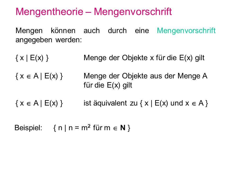 Pumping Lemma für kontextfreie Sprachen – Beweis 3 Da G (außer eventuell S ε) keine ε-Produktionen enthält und v2 v1 gilt, muss |xy| 1 gelten, d.h.: A * xAy und A * v, wobei |xvy| 2k =m und |xy| 1.