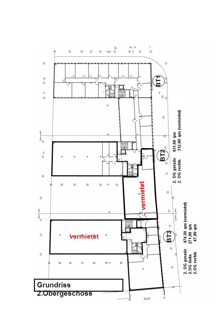 Grundriss 2.Obergeschoss 2. OG gerade 431,60 qm 2.