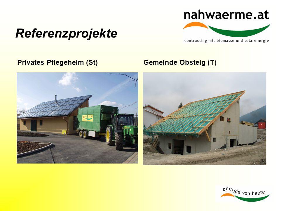 Referenzprojekte Privates Pflegeheim (St)Gemeinde Obsteig (T)