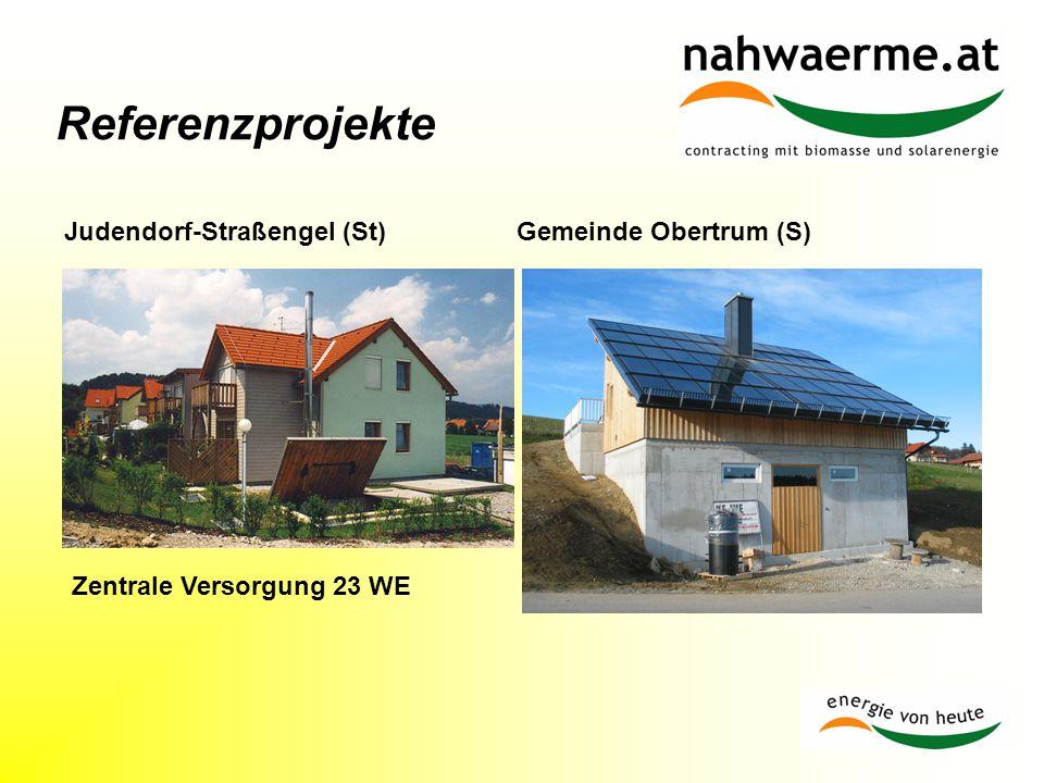 Referenzprojekte Zentrale Versorgung 23 WE Gemeinde Obertrum (S)Judendorf-Straßengel (St)