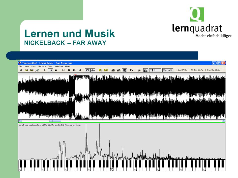 Lernen und Musik NICKELBACK – FAR AWAY