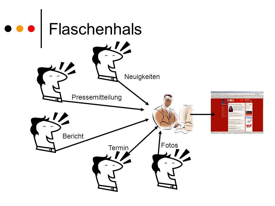 Flaschenhals NeuigkeitenPressemitteilung Fotos Bericht Termin