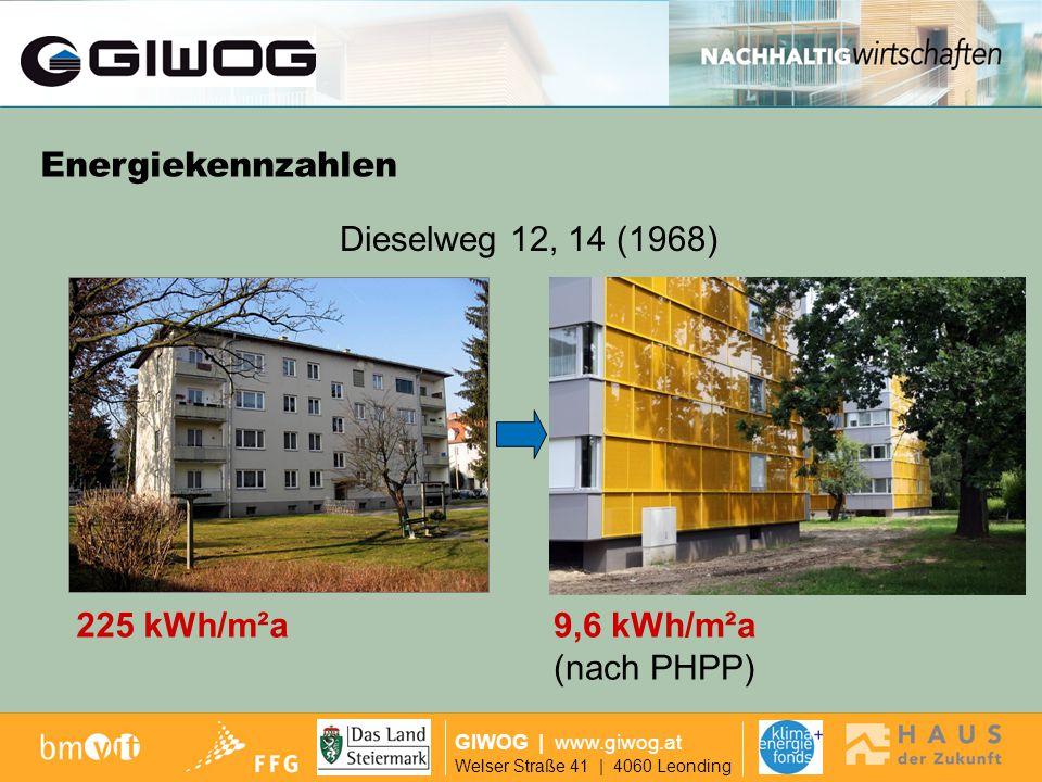 Ausgangslage GIWOG | www.giwog.at Welser Straße 41 | 4060 Leonding Grundriss (1968)Schnitt