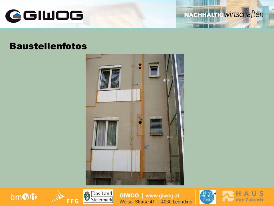 Finanzierung GIWOG | www.giwog.at Welser Straße 41 | 4060 Leonding Baustellenfotos