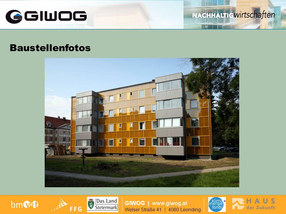Modernisierung Makartstr GIWOG Welser Straße 41 | 4060 Leonding | www.giwog.at MODERNISIERUNG MAKARTSTRASSE (50 Wohneinheiten) 1957 - 2005ab 2006 179 kWh/m²a14,4 kWh/m²a (nach PHPP)