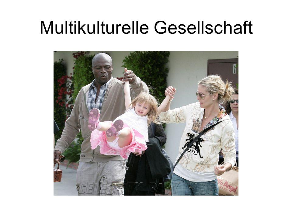 Multikulturelle Gesellschaft MG Die Feste, Sitten und Bräuche, Traditionen Positive und negative Erscheinungen der MG Das Leben und die Beziehungen zwischen den Mehrheiten und Minderheiten