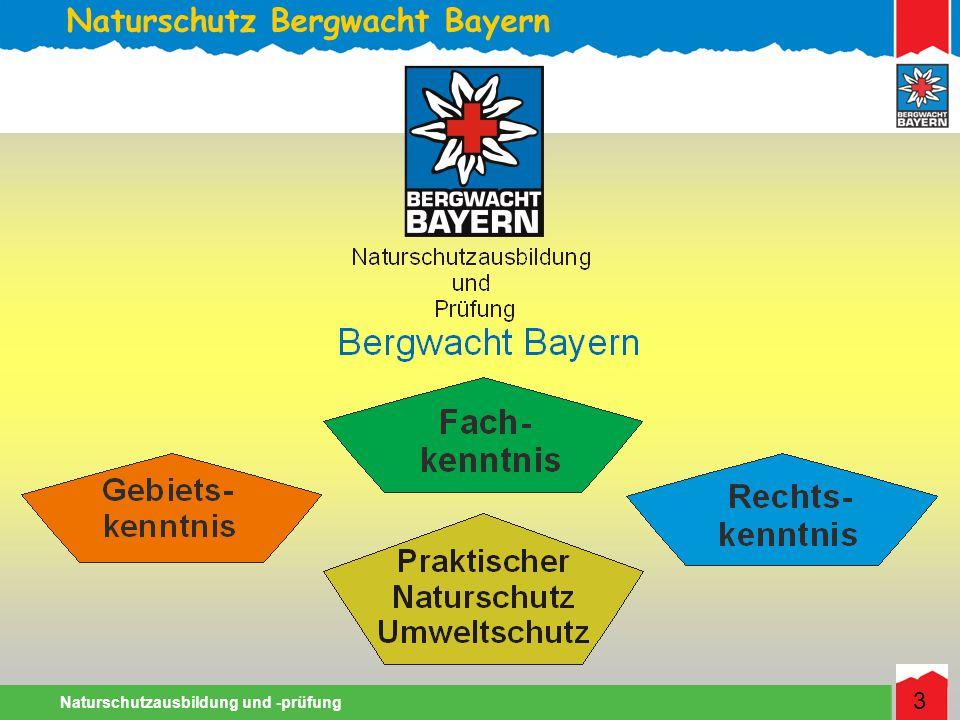 Naturschutz Bergwacht Bayern Naturschutzausbildung und -prüfung 3