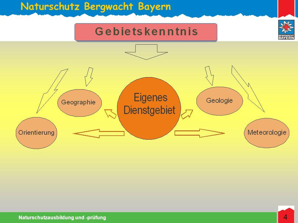 Naturschutz Bergwacht Bayern Naturschutzausbildung und -prüfung 4