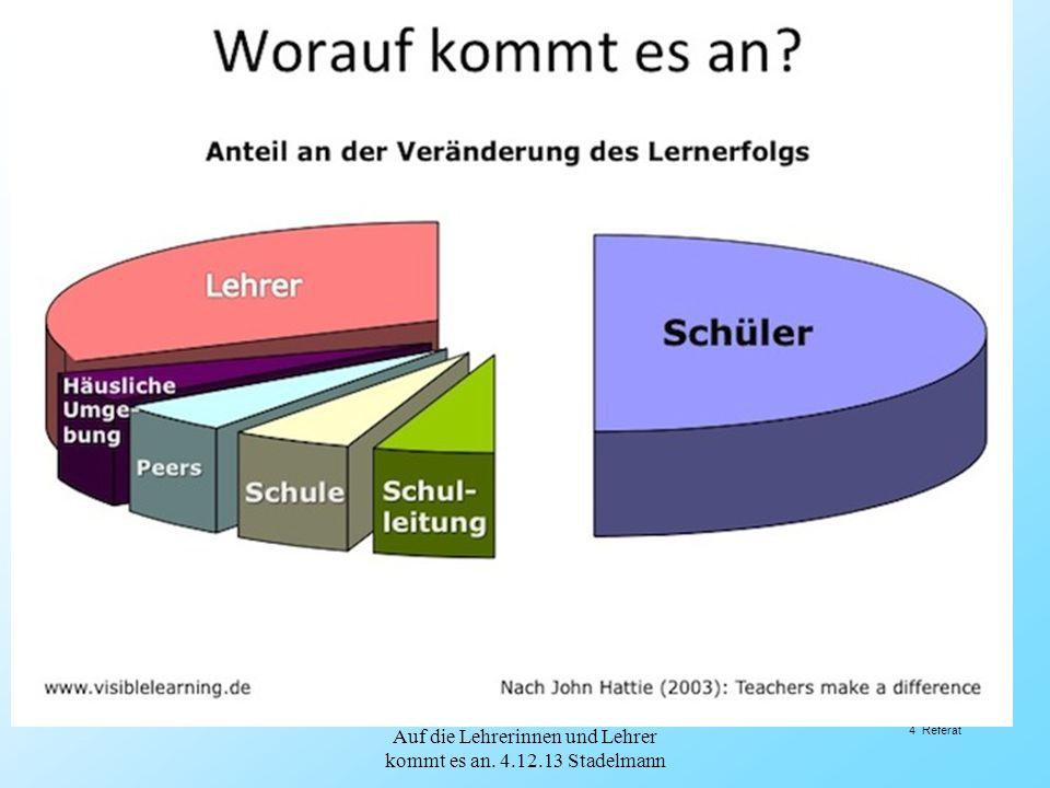 2.1.Anforderungen an den Lehrberuf: (Oser) Oser, F.: Standards in der Lehrerbildung I und II.