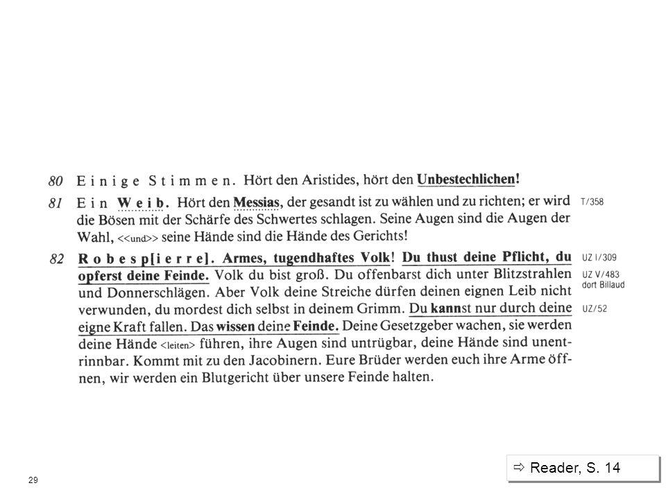 29 Reader, S. 14