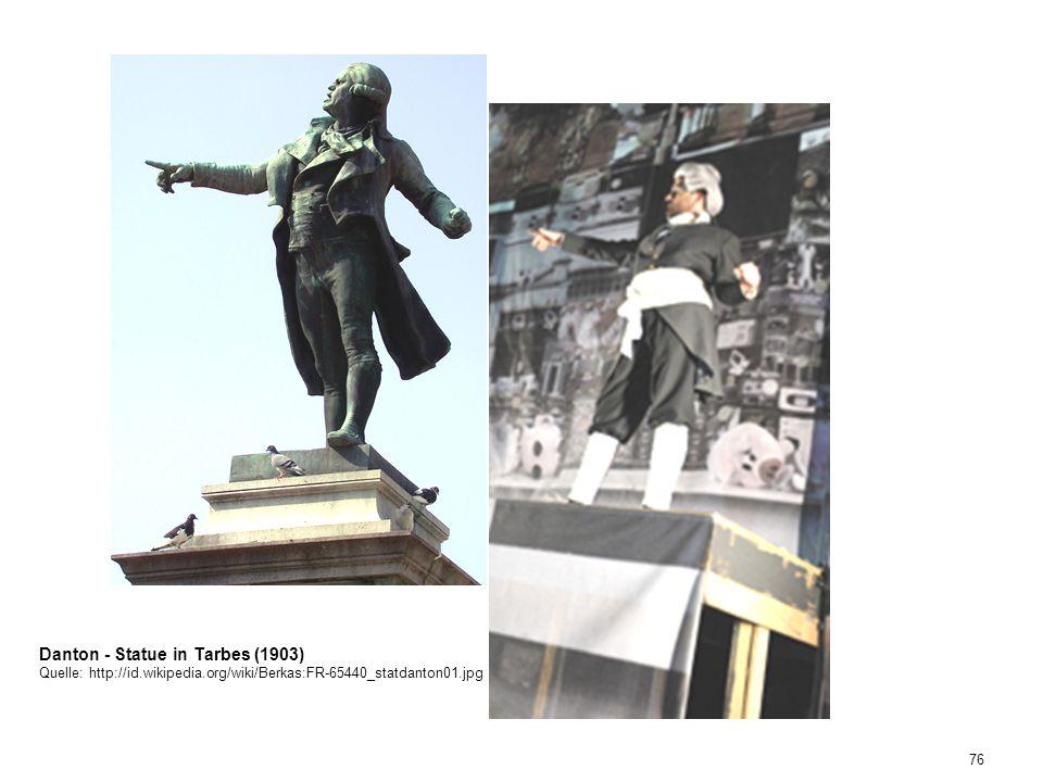 76 Danton - Statue in Tarbes (1903) Quelle: http://id.wikipedia.org/wiki/Berkas:FR-65440_statdanton01.jpg