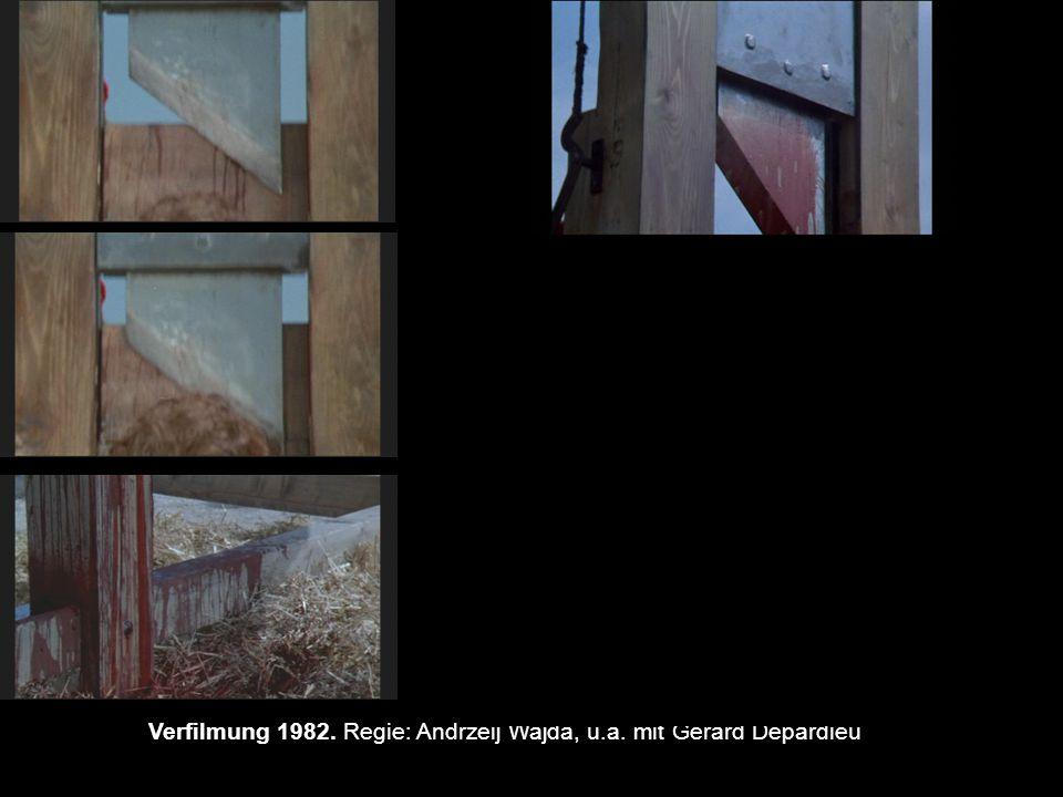 87 Verfilmung 1982. Regie: Andrzeij Wajda, u.a. mit Gerard Depardieu