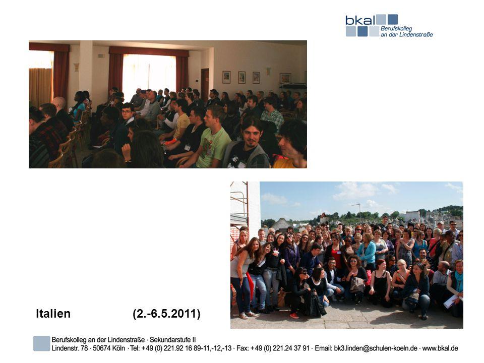 Italien(2.-6.5.2011)