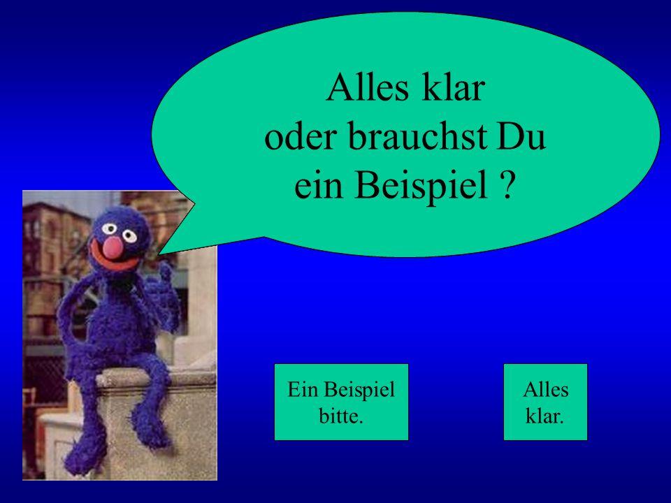 Ernie Graf Zahl Bert Oskar