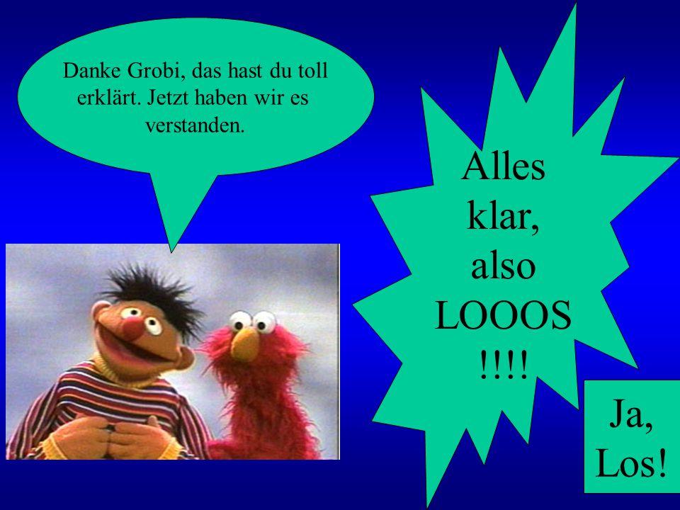 Ooh Bert, da hätte ich jetzt auch Lust zu.