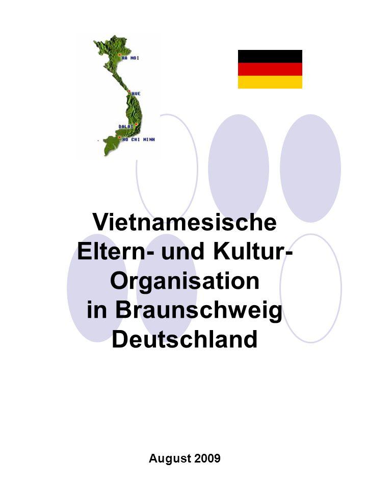 Vietnamesische Eltern- und Kultur- Organisation in Braunschweig Deutschland August 2009