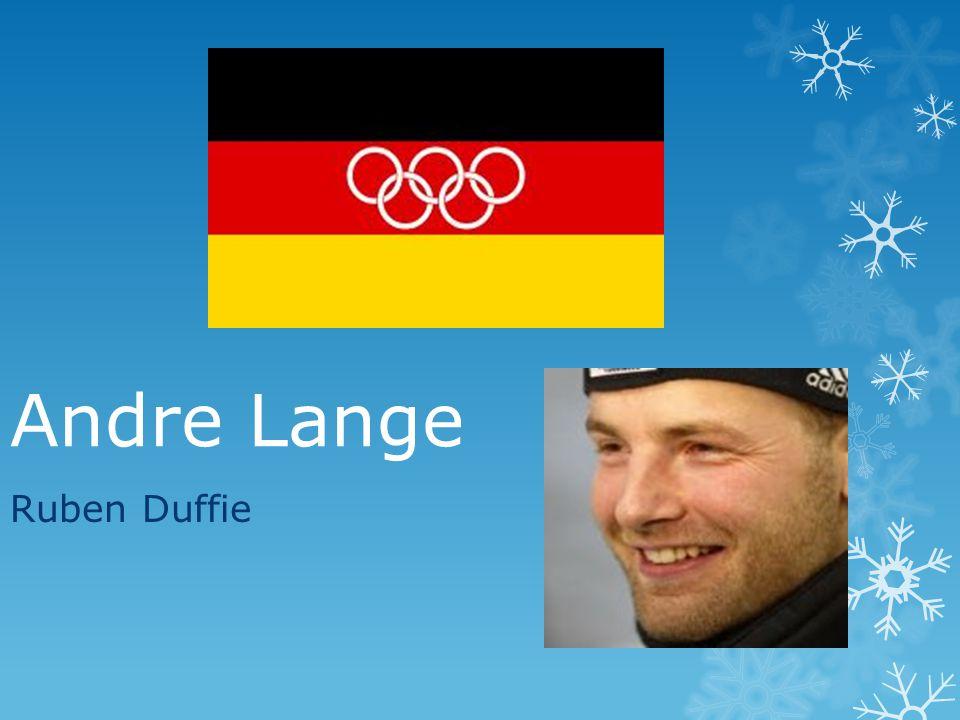 Andre Lange Ruben Duffie