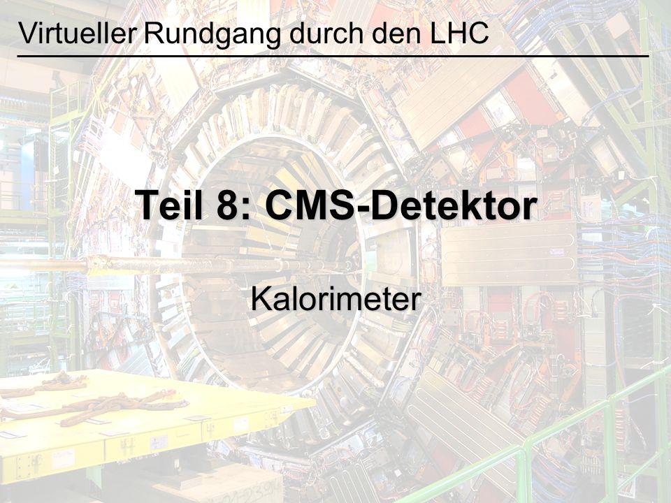 Kalorimeter Szintillator Lichtleiter Photomultiplier