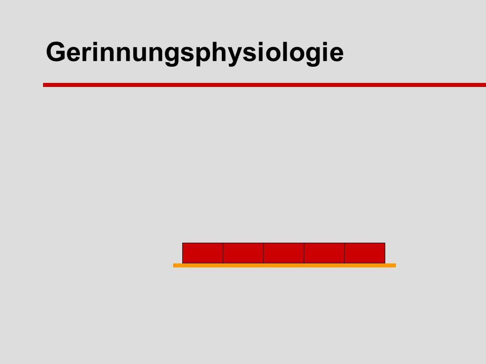 Gerinnungsphysiologie