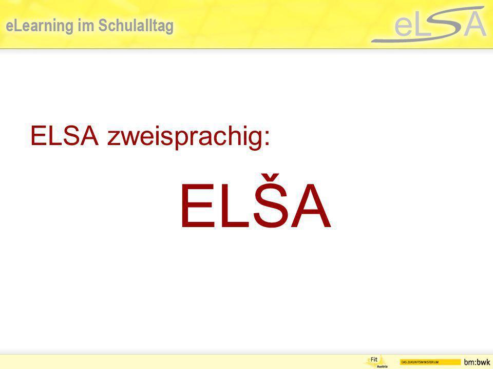 ELSA zweisprachig: ELŠA