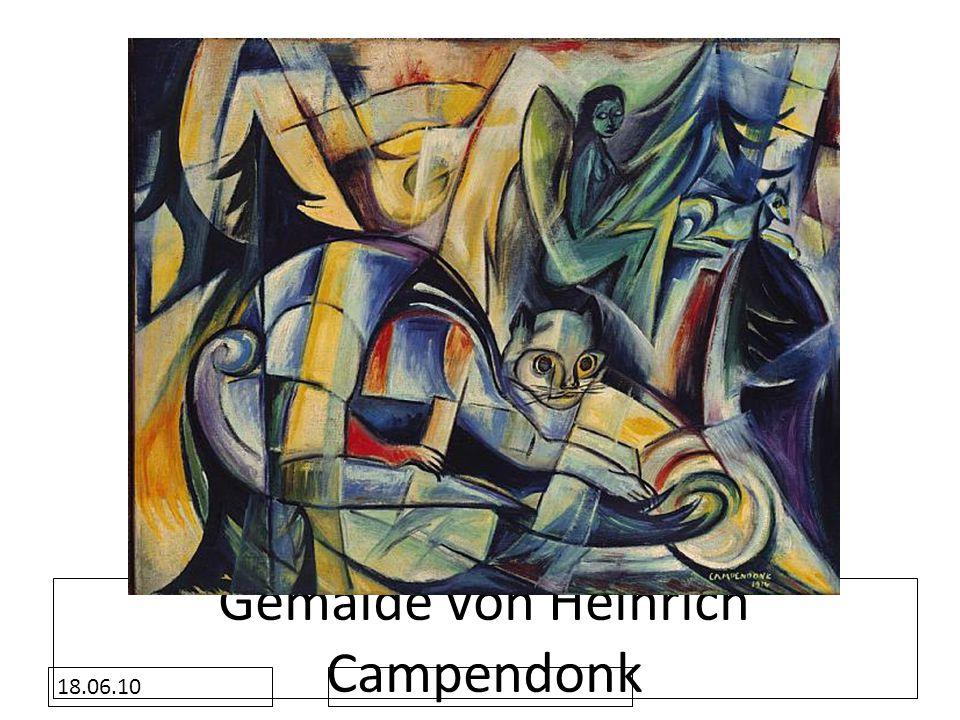 18.06.10 Gemälde von Heinrich Campendonk