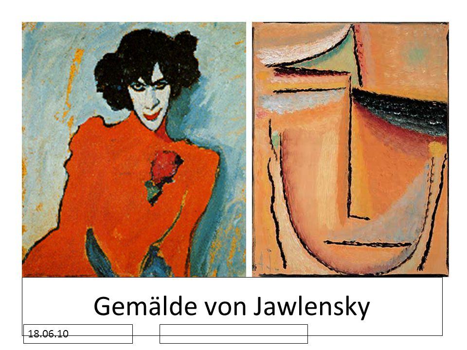 18.06.10 Gemälde von Jawlensky