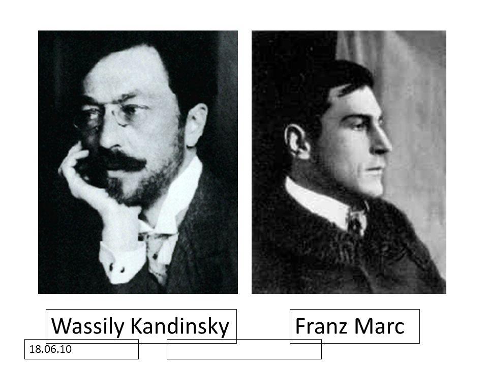 18.06.10 Wassily KandinskyFranz Marc