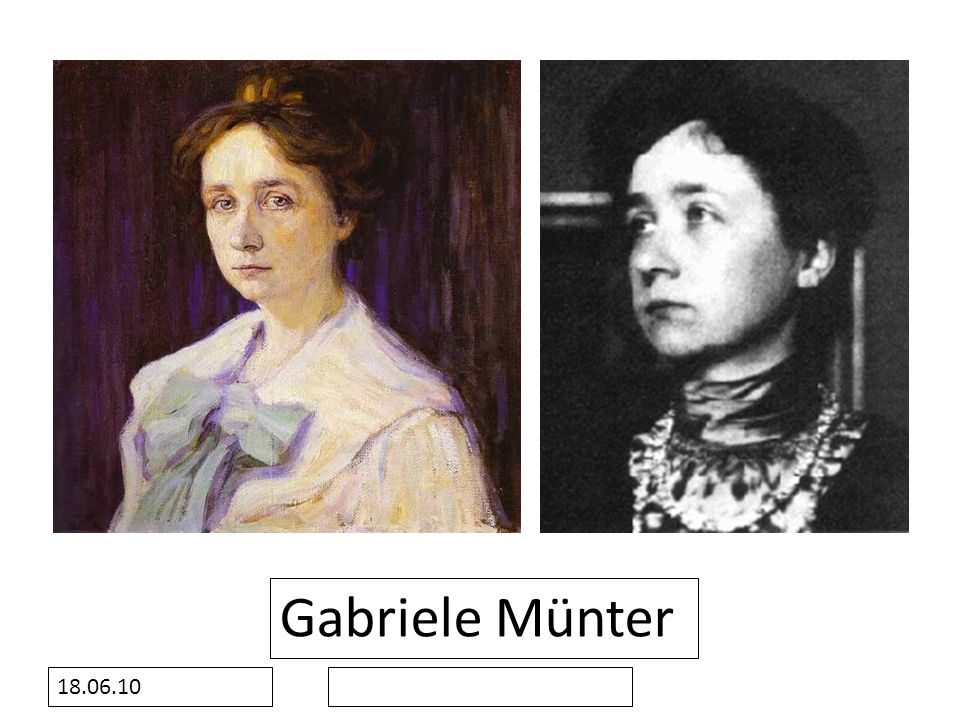 18.06.10 Gabriele Münter