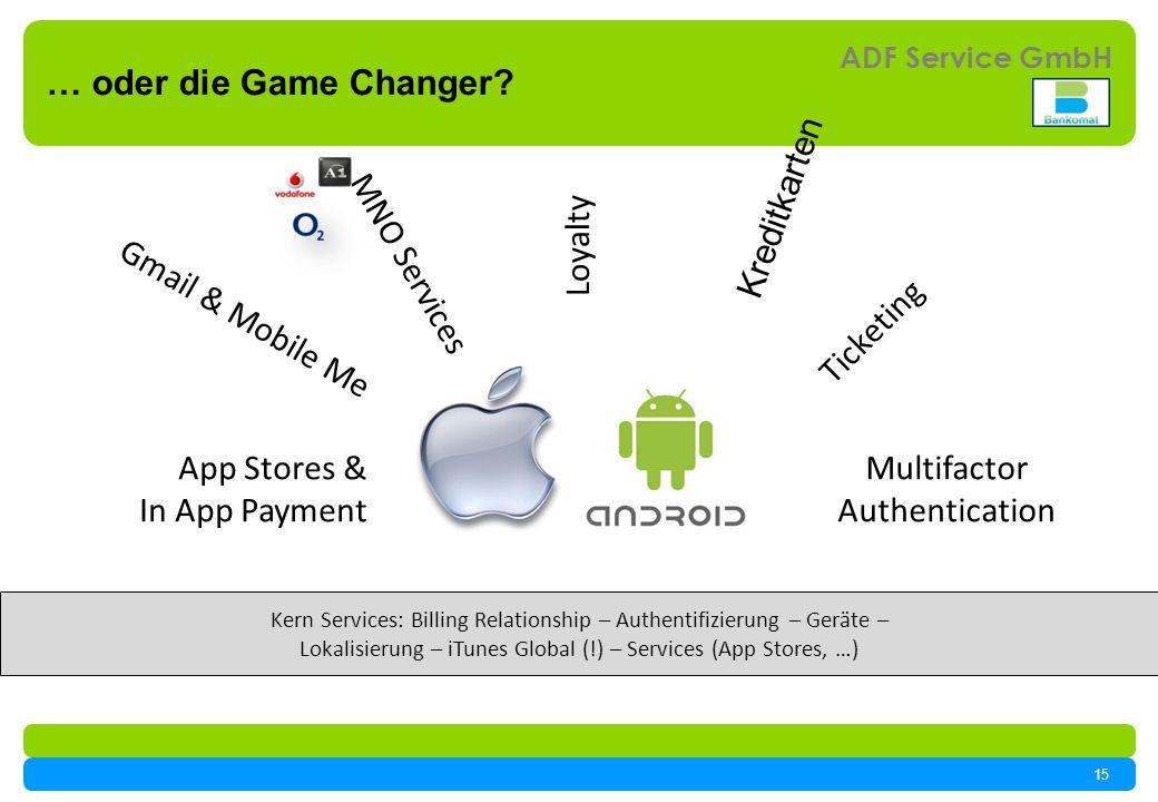15 ADF Service GmbH … oder die Game Changer.